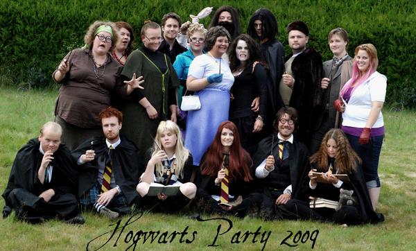 Hogwarts Party 2009 by majann