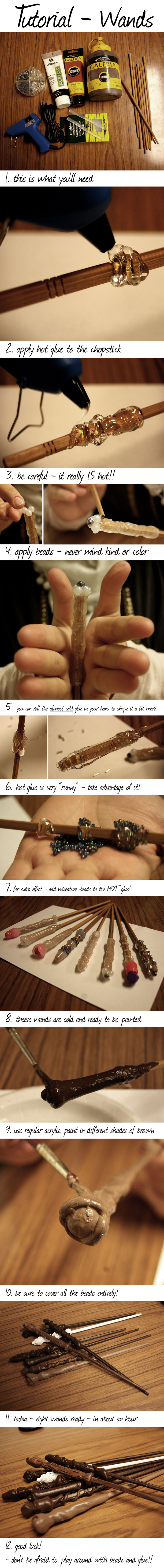 Wands - tutorial by majann
