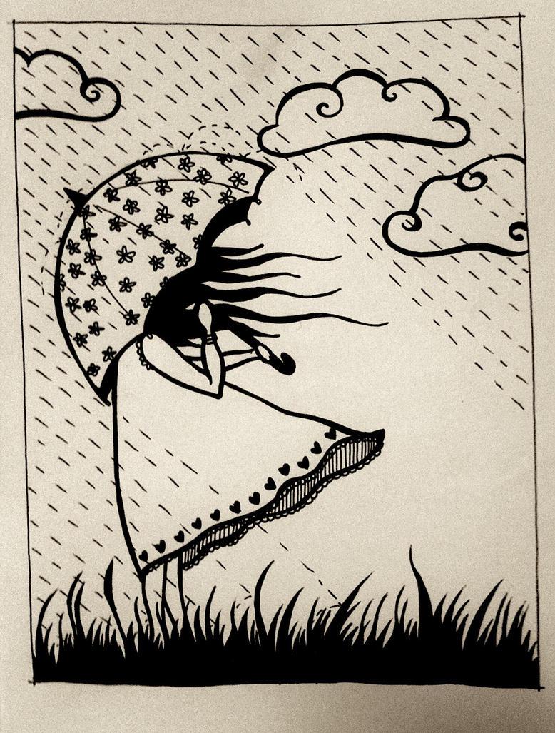 Rainy May Day by majann