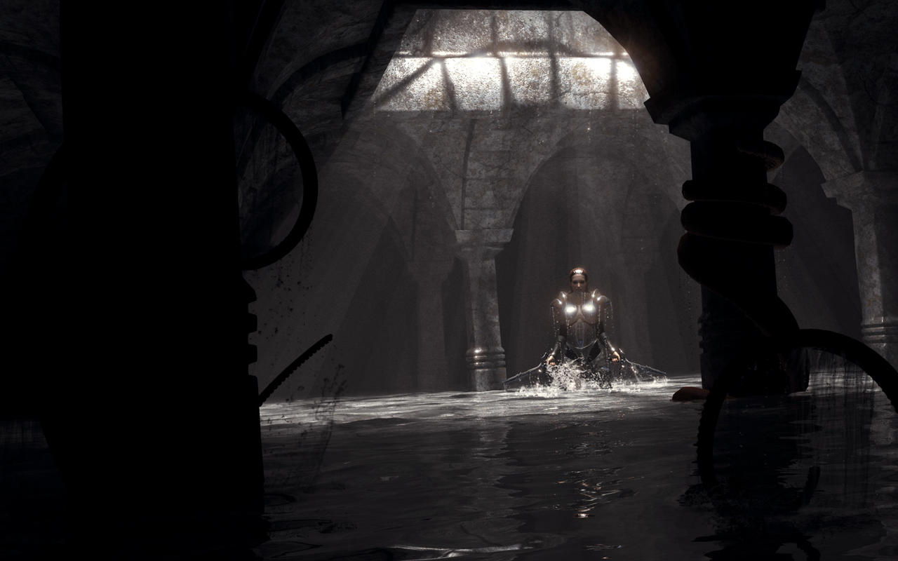 In the Shadows by OrestesGraphics