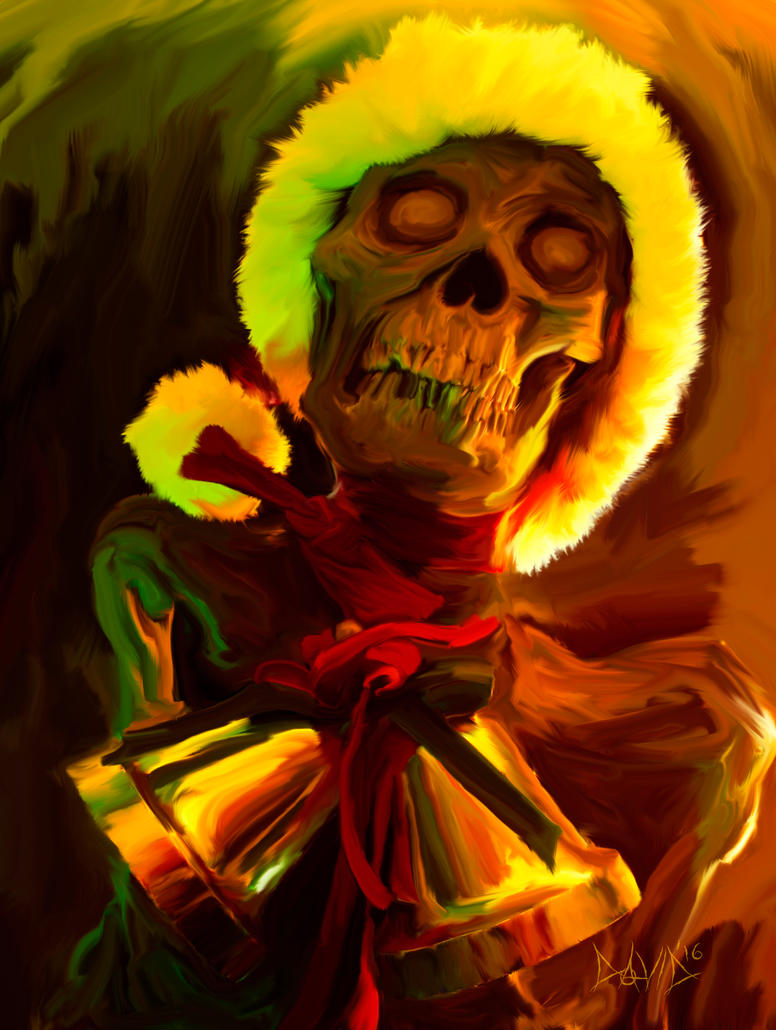 Creepy Caroller by OrestesGraphics