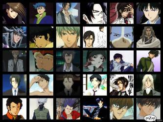 My anime guys favorites by Robertdowneyjrlvr