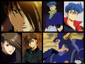 Favorite Anime characters by Robertdowneyjrlvr