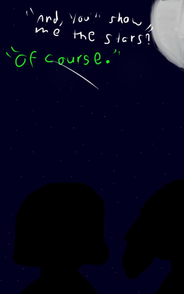 Chara and Asriel by Skll-Grl