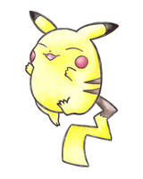 Happy Pikachu by PuddingBliss