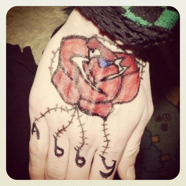 rose tattoo design by emo girl for eva on deviantart. Black Bedroom Furniture Sets. Home Design Ideas