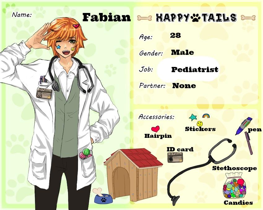 H T :  Fabian Lowell by AkaYuya
