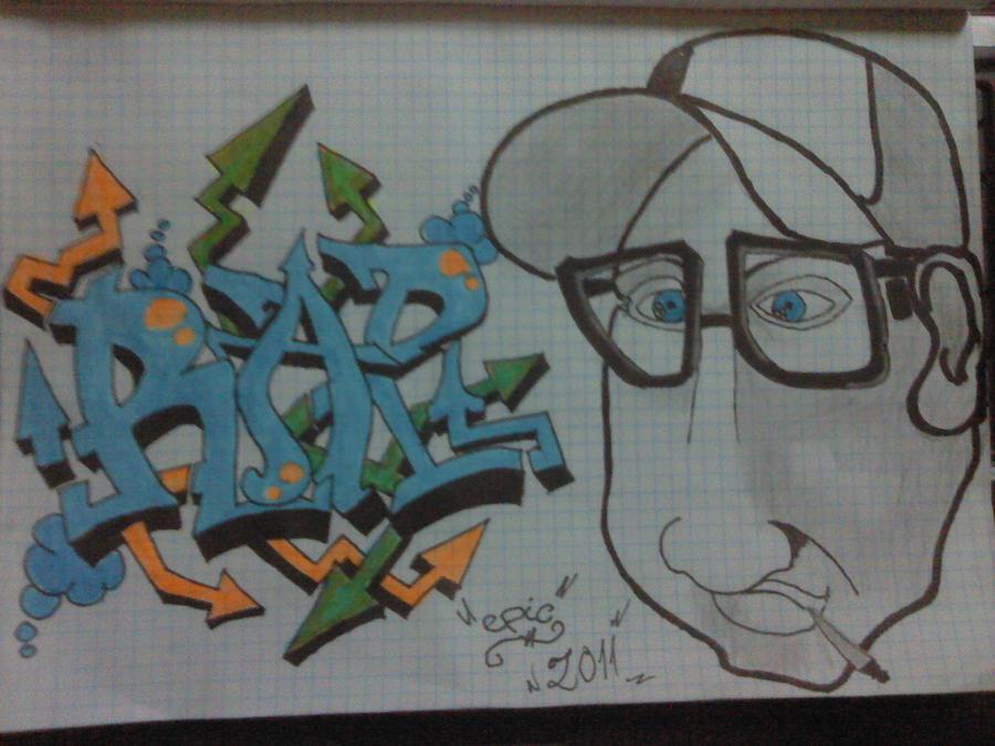 Rap Graffiti By 0PurePoison0