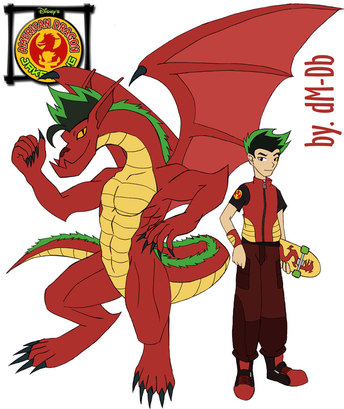 how to draw american dragon