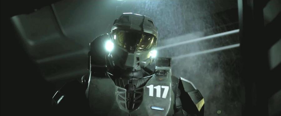 John-117 in Halo 4: Forward Unto Dawn by Lopez-The-Heavy