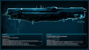UNSC Infinity vs UNSC Forward Unto Dawn - Scale