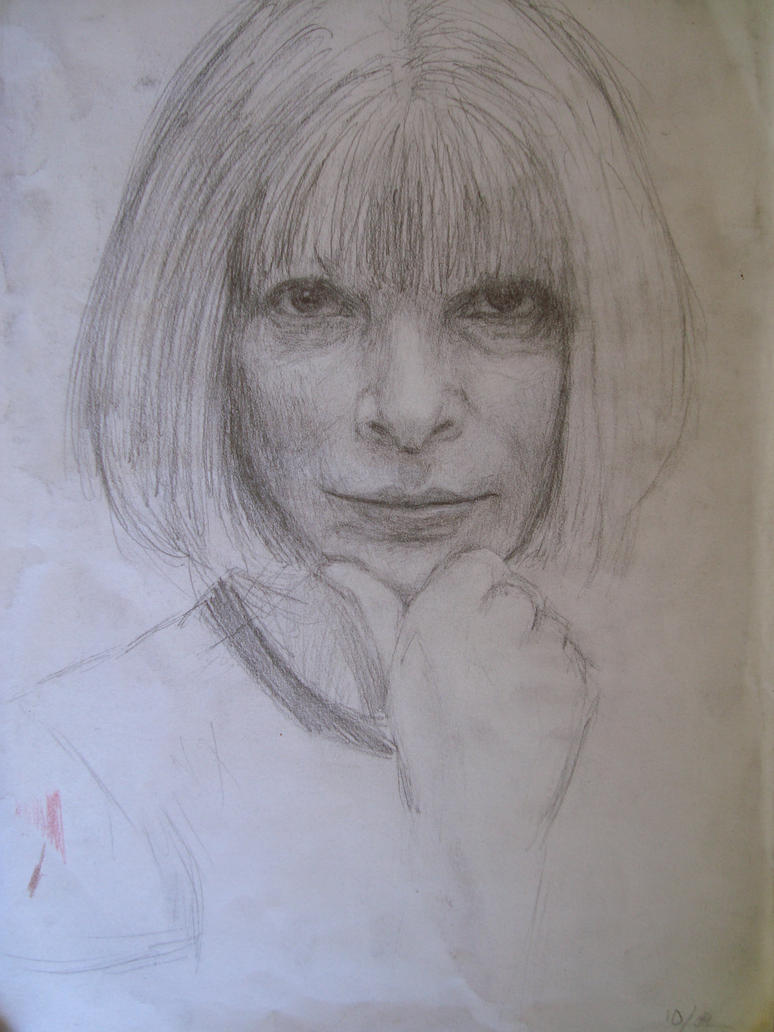 Anna Wintour by B-Reka