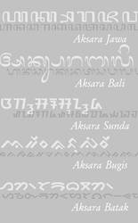 Fonts for Indonesian Scripts