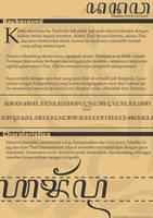Danawa Font concept