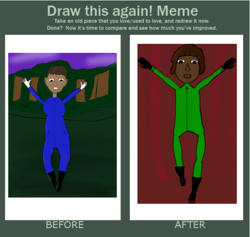 Draw this again! (6 months) by DollNerd