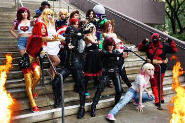 Ladies of Marvel 3 by TrueError
