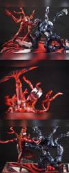 Revoltech Carnage Custom Figure by TrueError