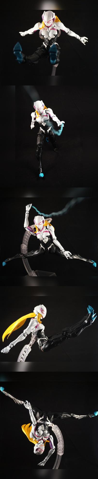 PAK Spider-Gwen Custom Figure by TrueError