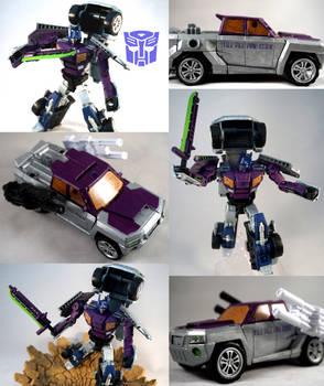 Shattered Glass Optimus Custom