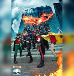 Long Beach Comic Con 2017 - DC Males by TrueError