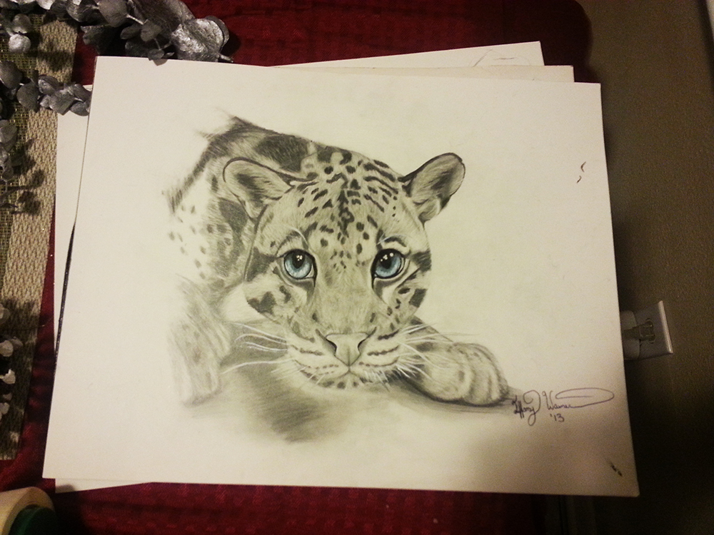 Clouded Leopard by CelestialKisses