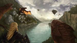 Dragonlord by kreativeblade