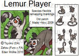 Furc- Port+Patch- Multi-Lemur by Zahzumafoo