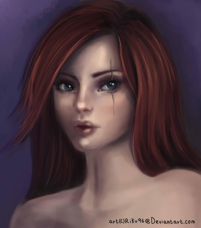 Katarina portrait by SenRyuji