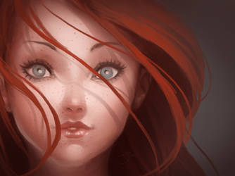Freckles by SenRyuji