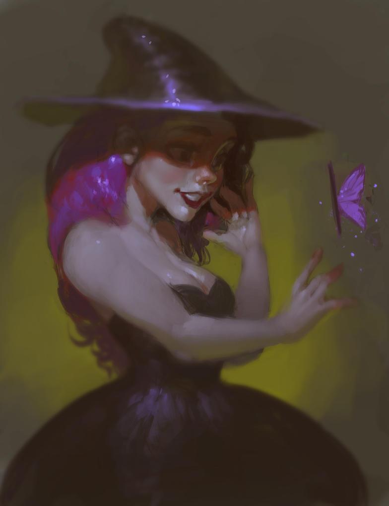Witch by SenRyuji