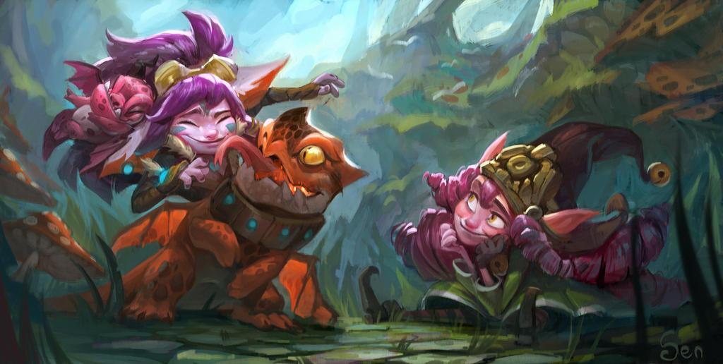 Dragon Trainers by SenRyuji