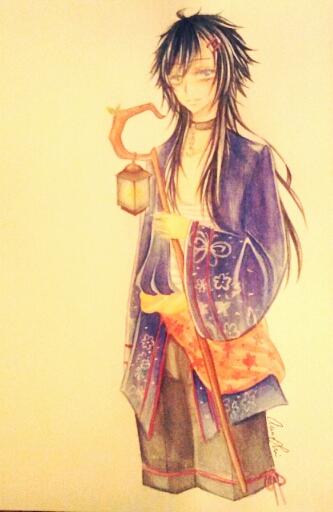 Aoi babu by Shing-Yi
