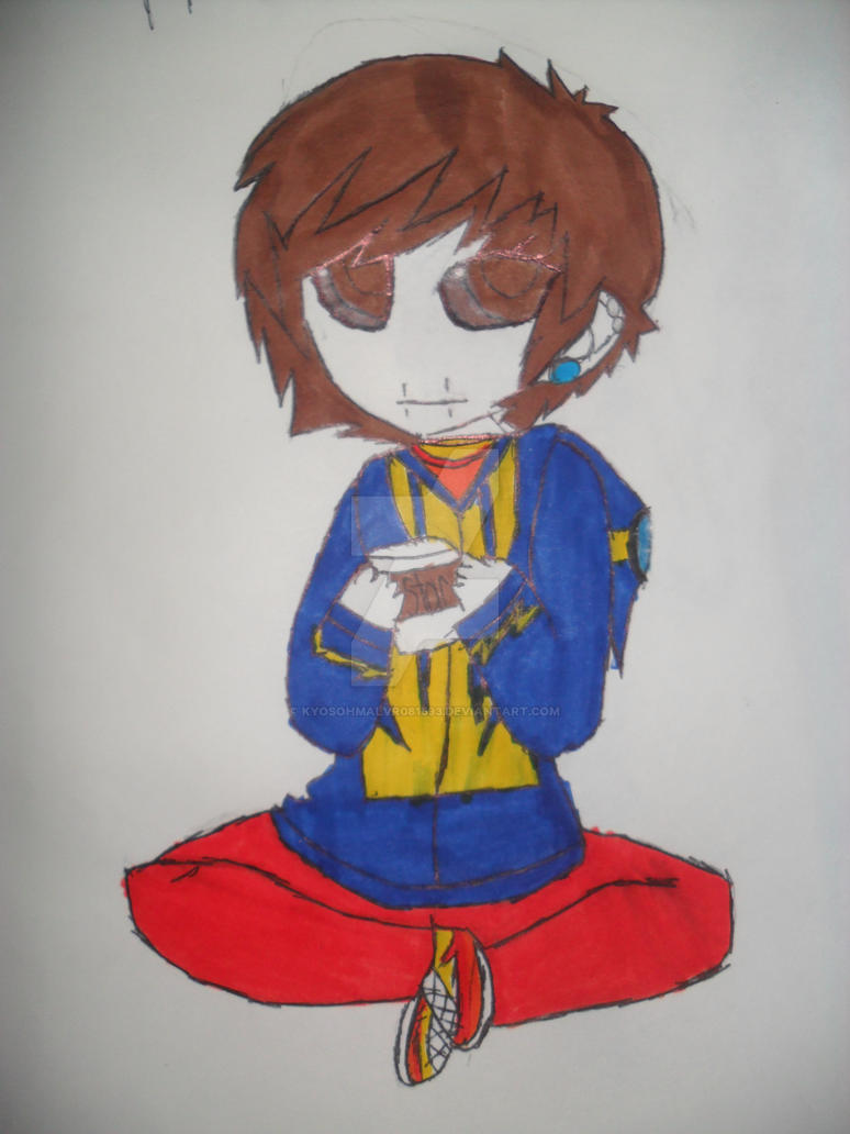 Hunter Kirkland loves his Starbucks by KyoSohmalvr081593