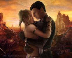 SWTOR: Quinn + Warrior Sunset by Tanzanight