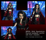 SWTOR: Sith Inquisitor Customized Barbie Doll. by Tanzanight
