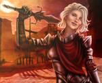 Dragon Age 2 O.C.: Ginivere Hawke.