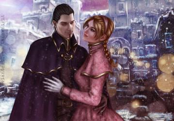 Logan and Lenna, their last winter. by Tanzanight