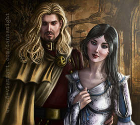 King Jacques and Queen Anna by Tanzanight