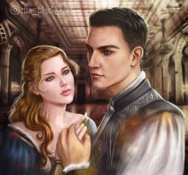 Skyrim Romance Mod: Emmeline and Casavir