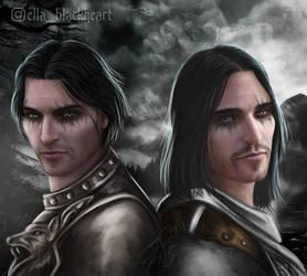 Skyrim: Vilkas and Farkas