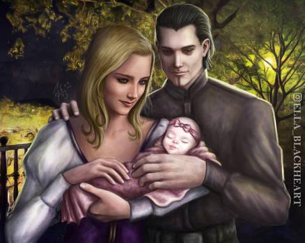 Fable 3: Logan, Nadya, and baby Milla