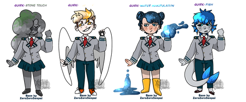 BNHA Adopts! {2/4 OPEN}
