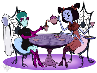 Tea Time by JWolf-97