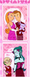 Happy Valentine's to Vanitor and Professor-Doctor by JWolf-97