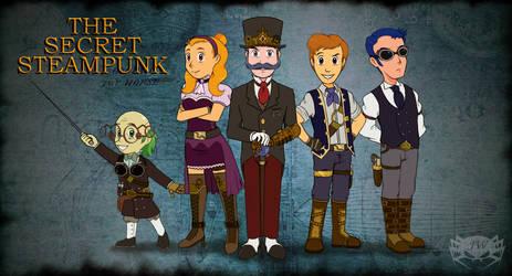 The Secret Steampunk: Main U.Z.Z. Cast