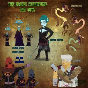 The  Secret Steampunk: Bad Guys