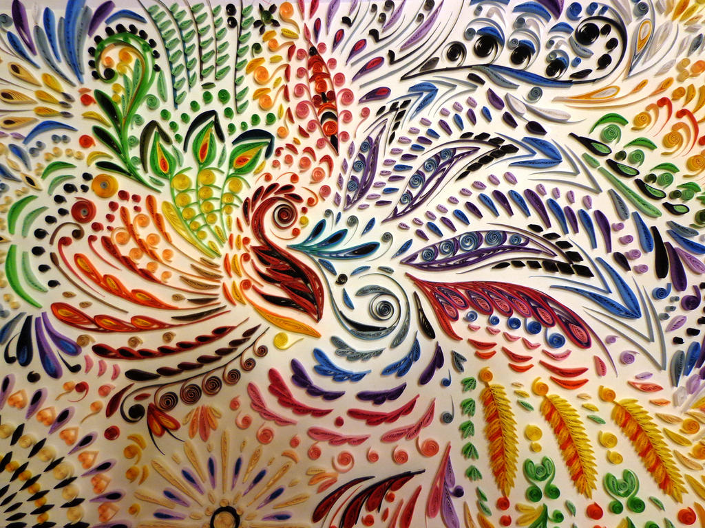 Abstract Quilling~~~ by SilverDust20383