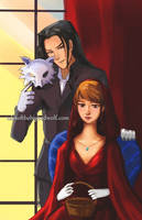 Another pimpin' Big Bad Wolf with Red Riding Hood by Fairytwister