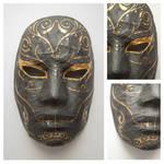 Not so sugary skull mask