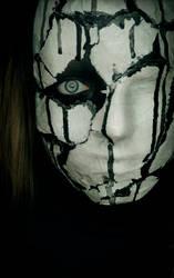 Behind a broken mask III by xAsOnex